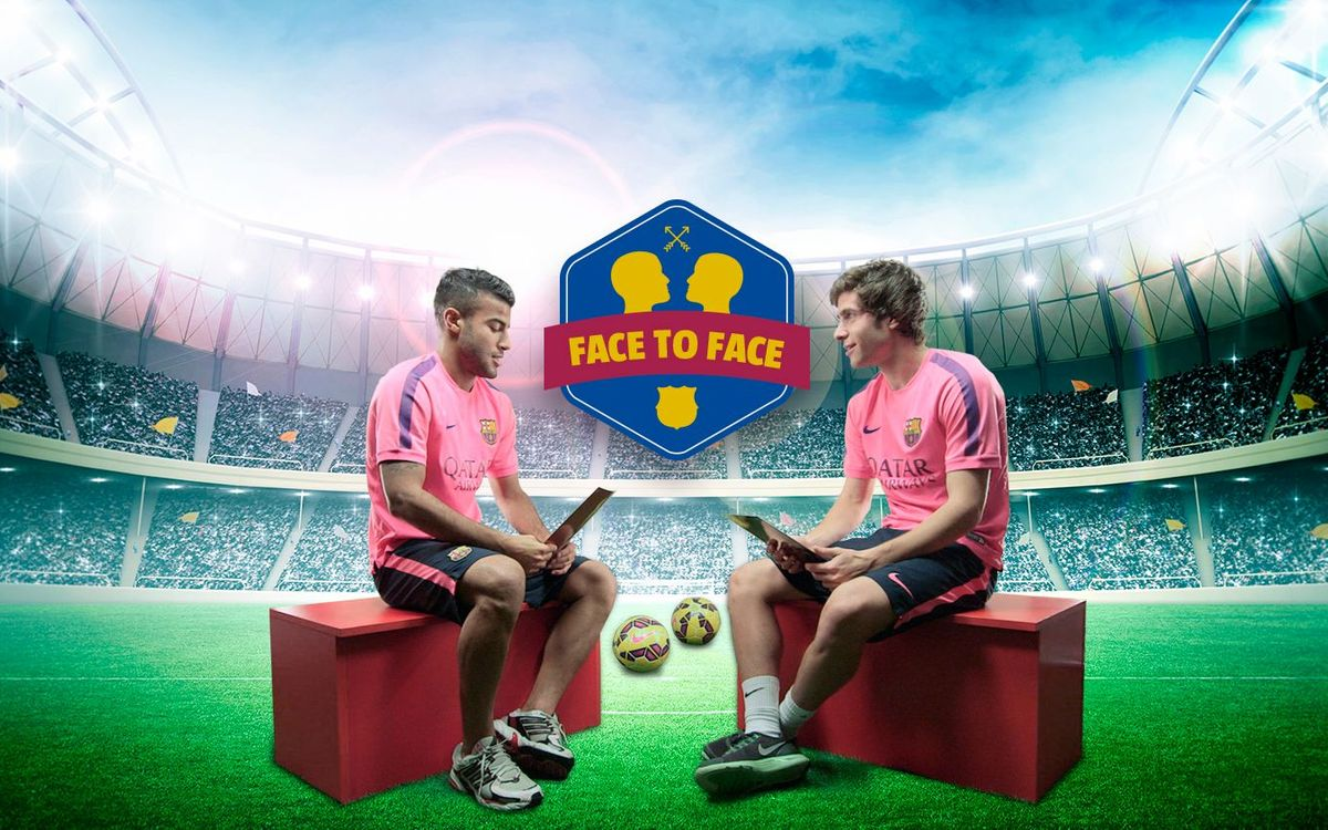 Face to Face: Rafinha vs. Sergi Roberto