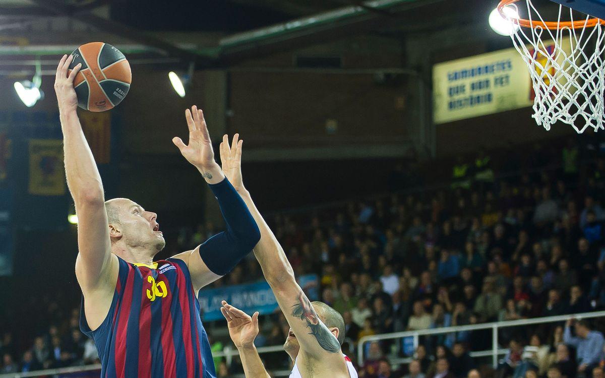 Laboral Kutxa Baskonia - FC Barcelona: Volen confirmar la bona línia de joc