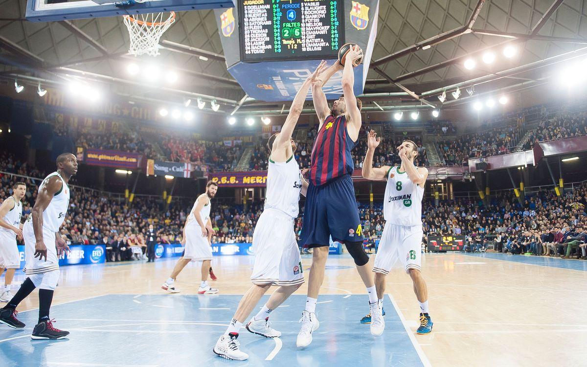Panathinaikos – FC Barcelona: Partit decisiu a Atenes