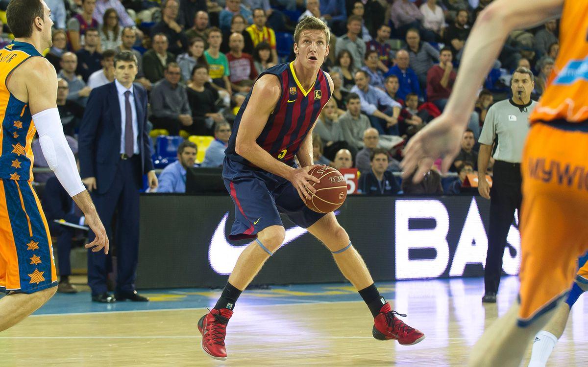 Valencia Basket - FC Barcelona: Partido grande en la vuelta de Doellman a Valencia