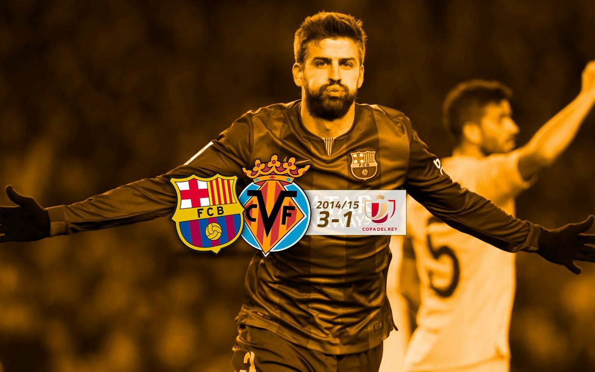 FC Barcelona: 3 - Vila-real: 1