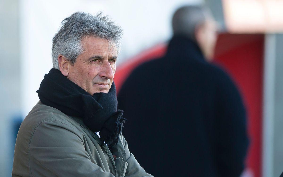 """Jordi Vinyals: """"L'actitud dels jugadors ha estat molt bona"""""""