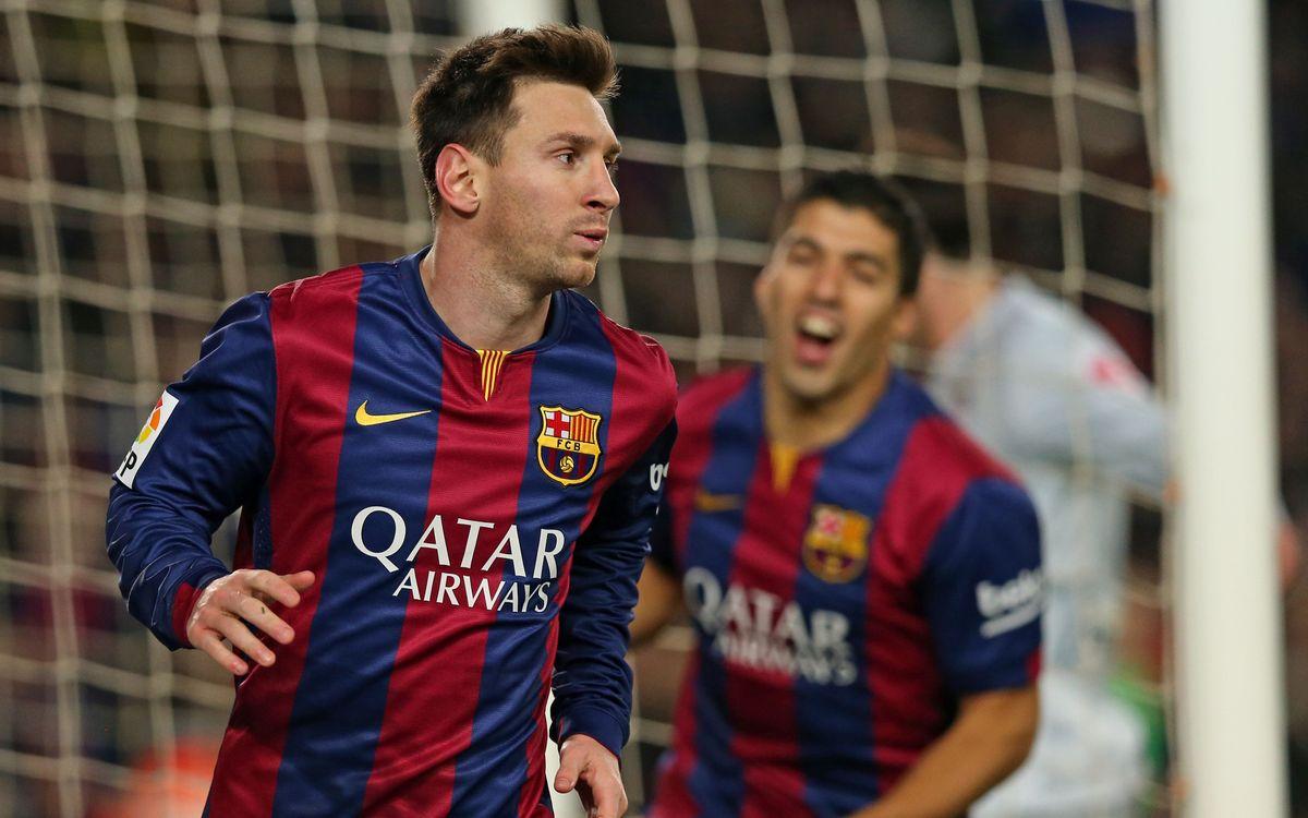 FC Barcelona v Atlético Madrid: Messi breaks the deadlock (1-0)