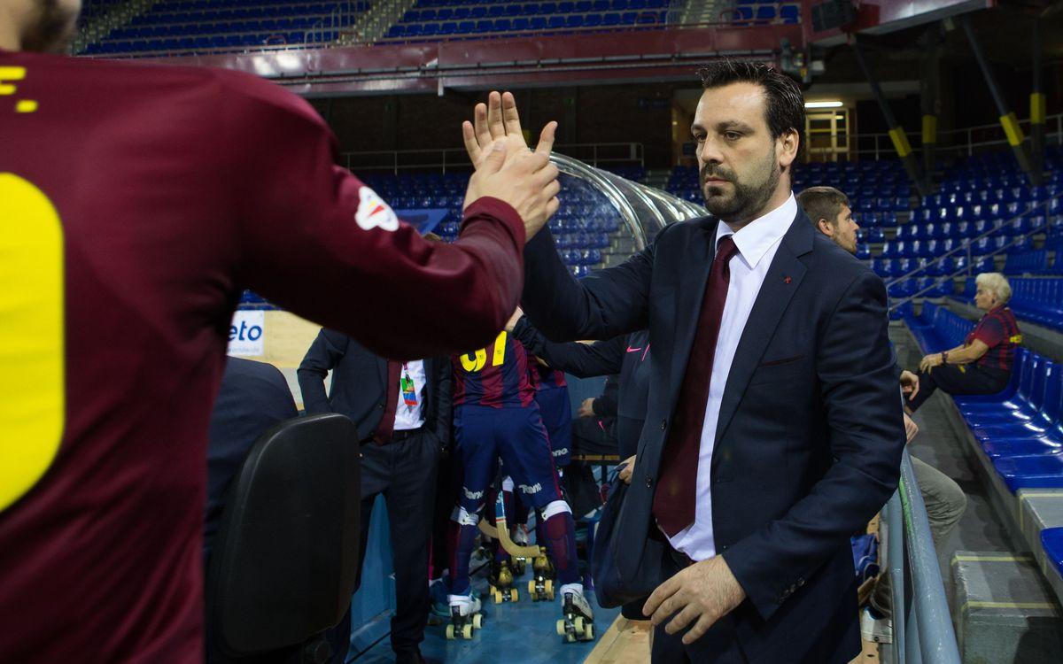 """Ricard Muñoz: """"El Vilafranca està en un moment molt sòlid"""""""