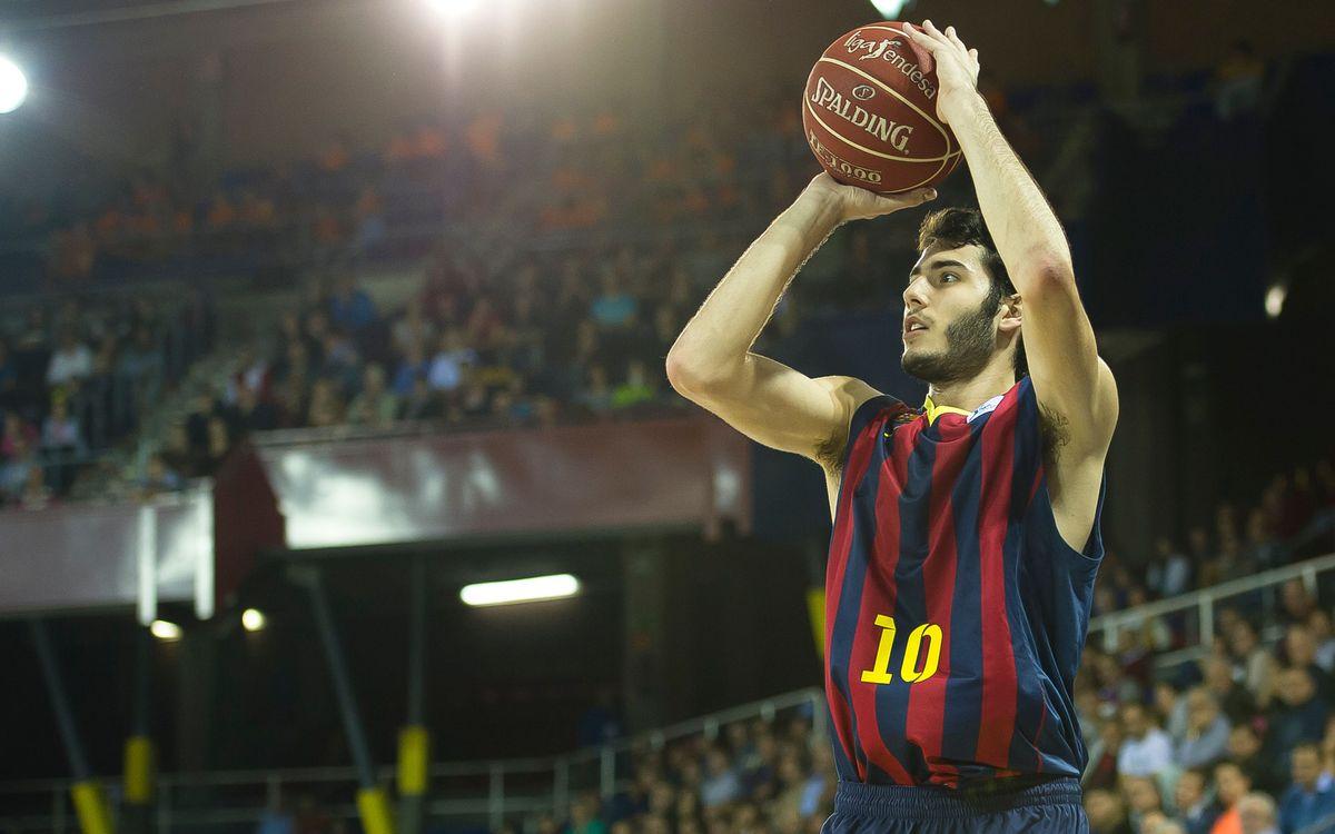 Abrines, MVP de la jornada 9 de la Lliga Endesa