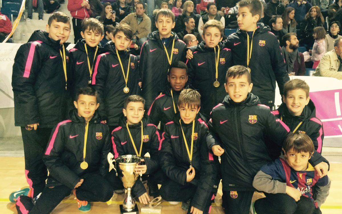 El B manté el liderat i l'Aleví guanya el torneig a Palma