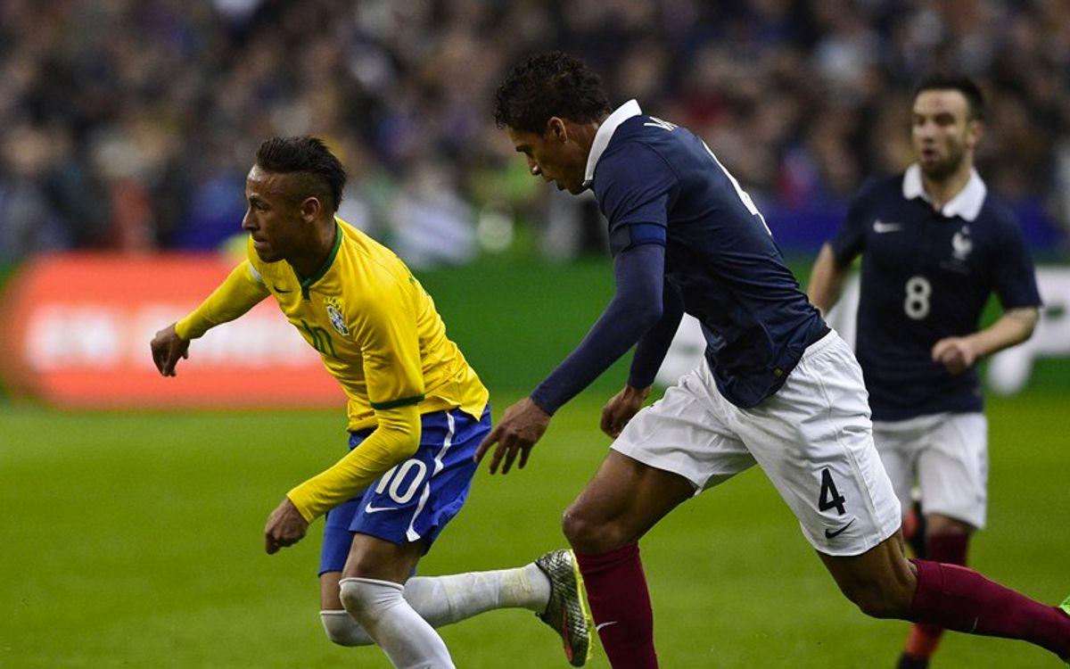 Le Brésil de Neymar bat l'équipe de France