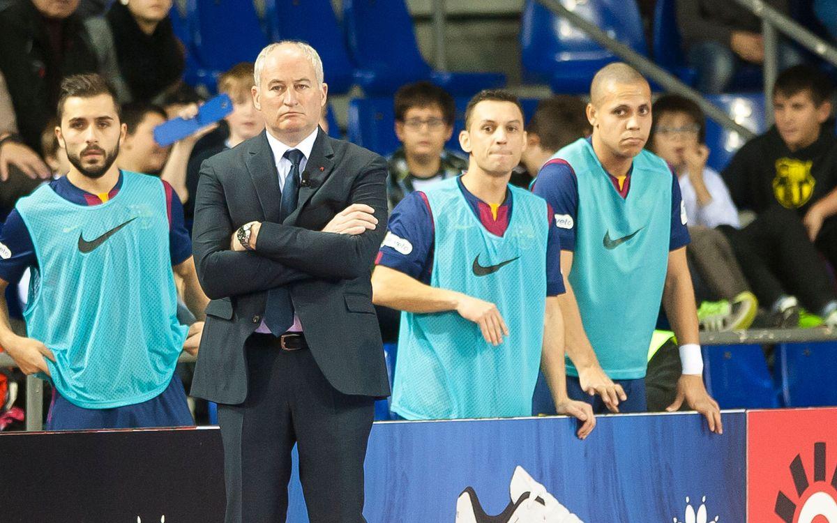 Marc Carmona reconeix la dificultat del partit contra el Burela
