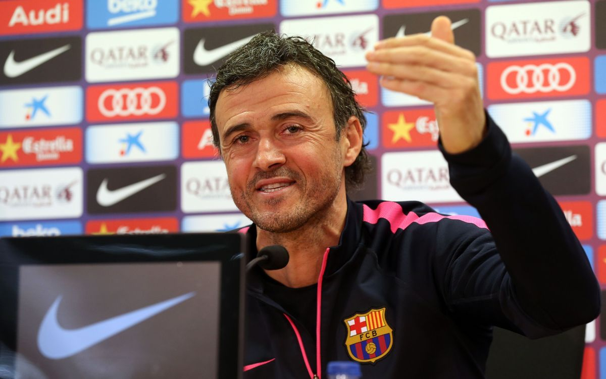LIVE-Luis Enrique press conference