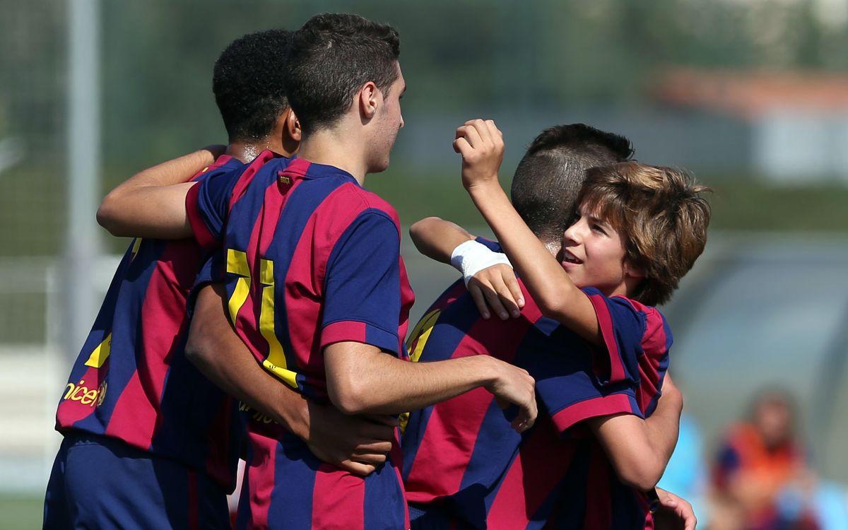 DIRECTE / FC Barcelona - RCD Espanyol (Divisió d'Honor Cadet)