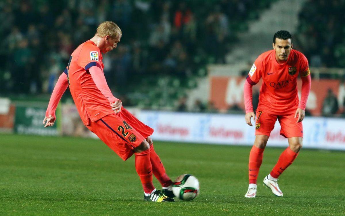Mathieu ouvre son compteur but avec le FC Barcelone