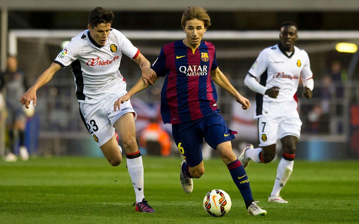 FC Barcelona B v Mallorca (2-4): Painful defeat