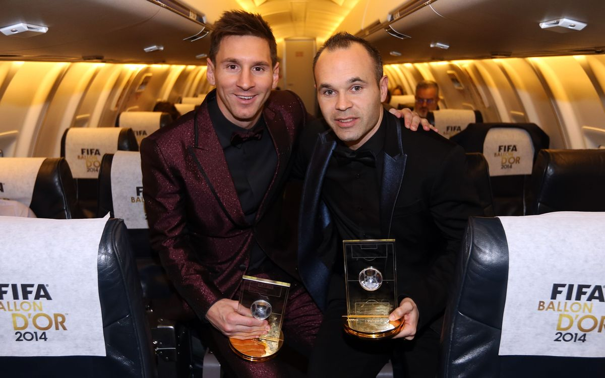 Live with Messi & Iniesta the Ballon d'Or!