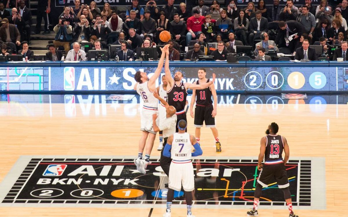 Pau and Marc Gasol make history at NBA All-Star Game in New York