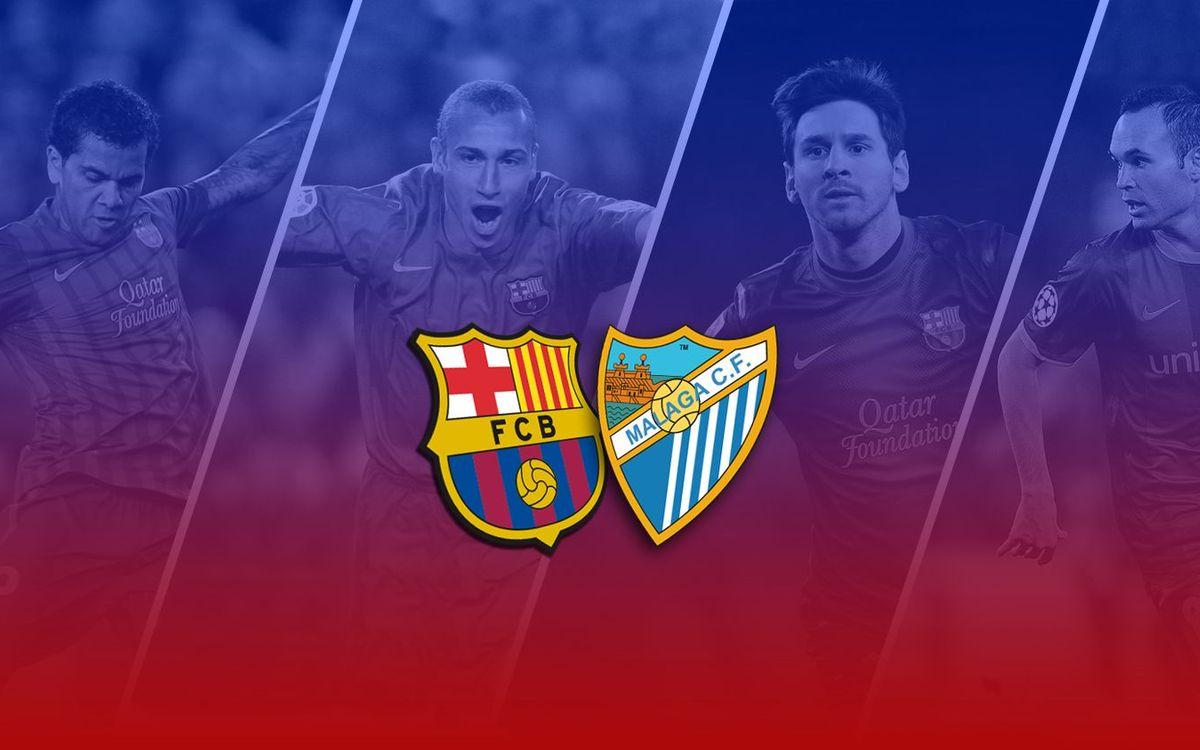TOP5: Millors gols contra el Màlaga a casa