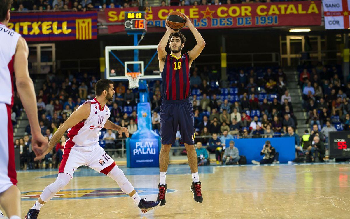 FC Barcelona - Alba Berlín: Toca seguir fent els deures