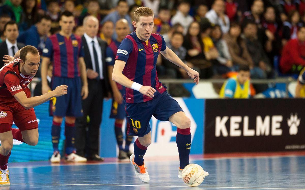 FC Barcelona – Prone Lugo FS: Volen seguir amb la bona dinàmica