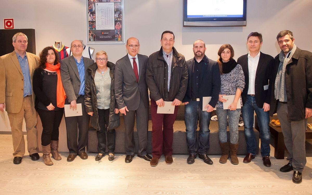 Cap de setmana intens de Llotja Oberta al Palau Blaugrana