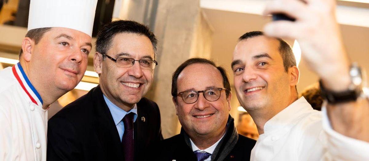 Les grands chefs s'invitent au Camp Nou