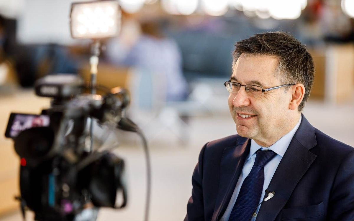 Bartomeu tells BBC why Barça is so special