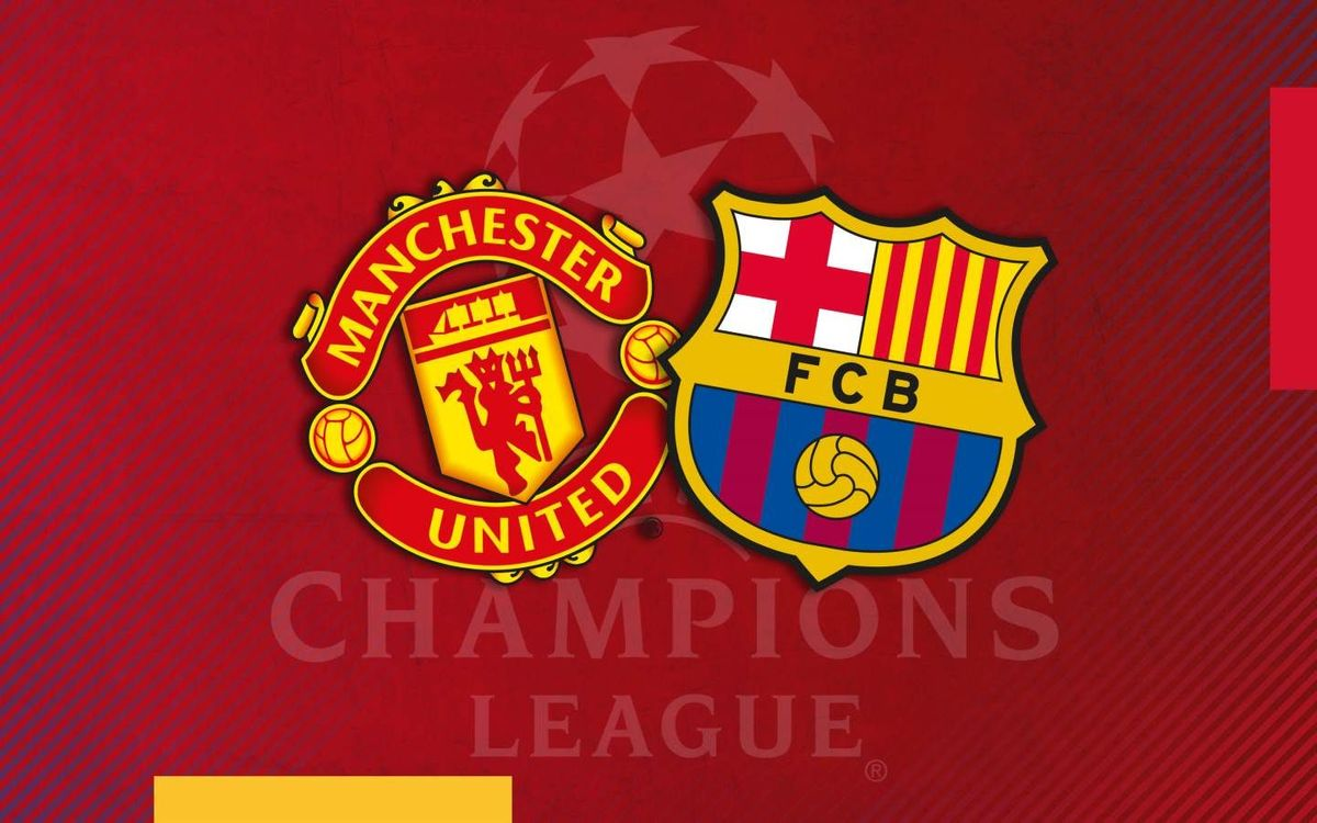 Barça to face Manchester United in the quarter finals