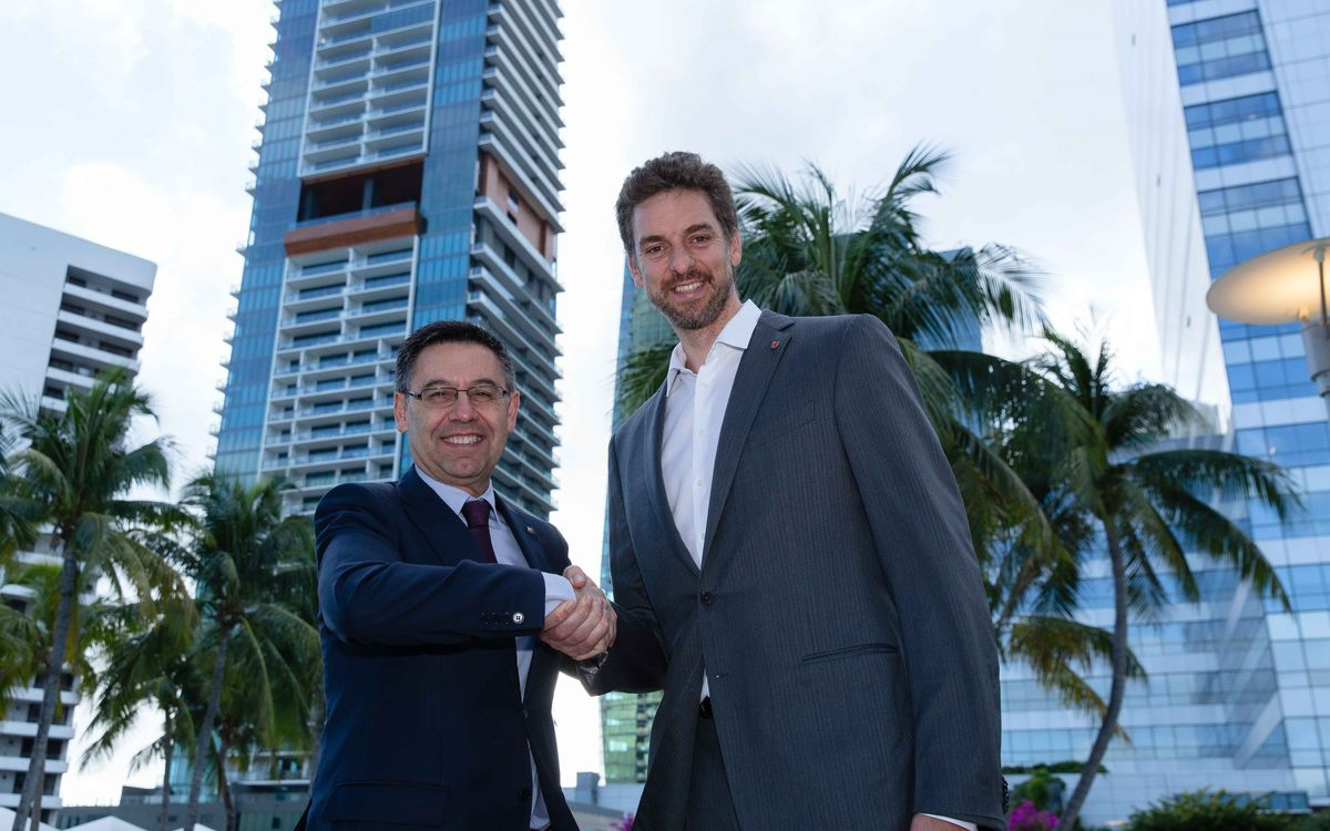 Pau Gasol, strategic advisor and Barça ambassador in the United States