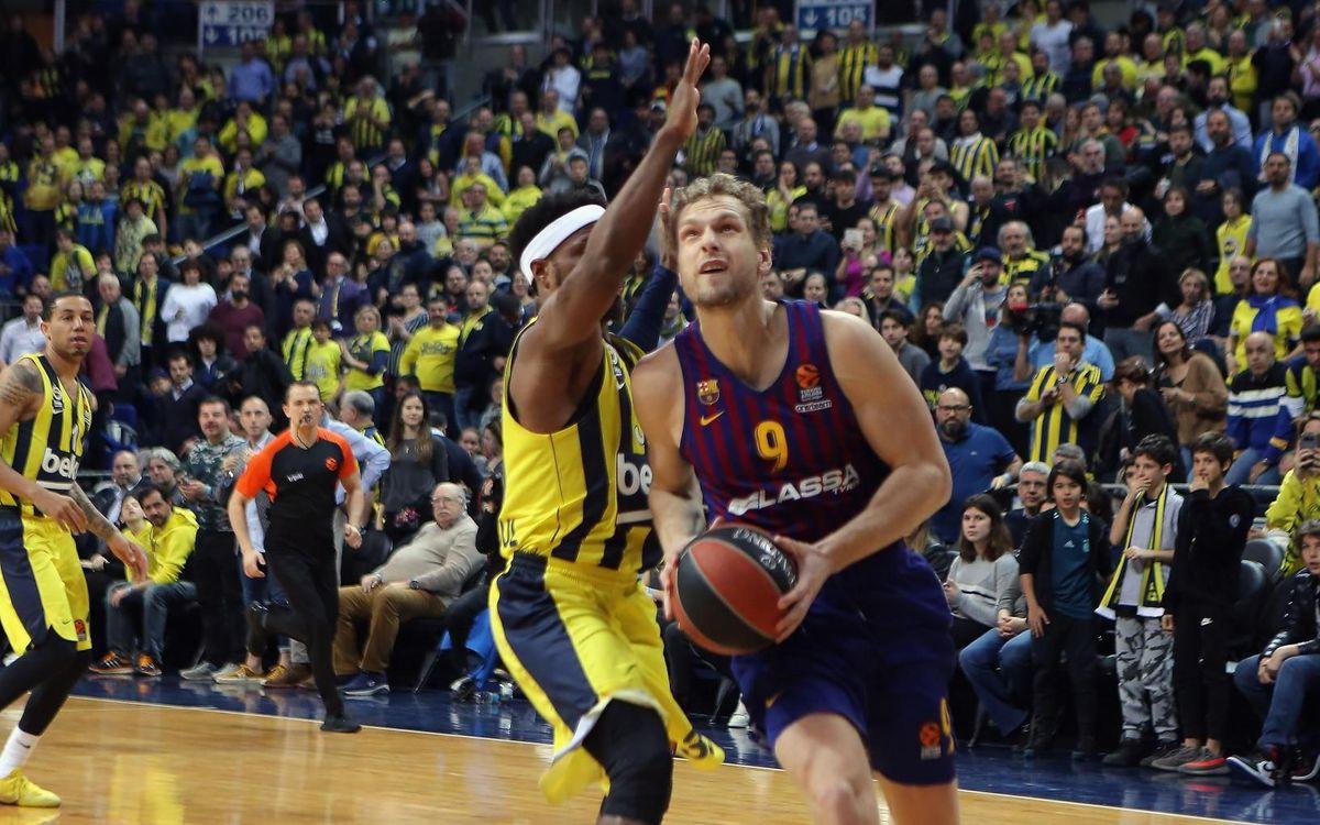 Fenerbahçe Beko - Barça Lassa: Derrotados en los últimos instantes (88-82)