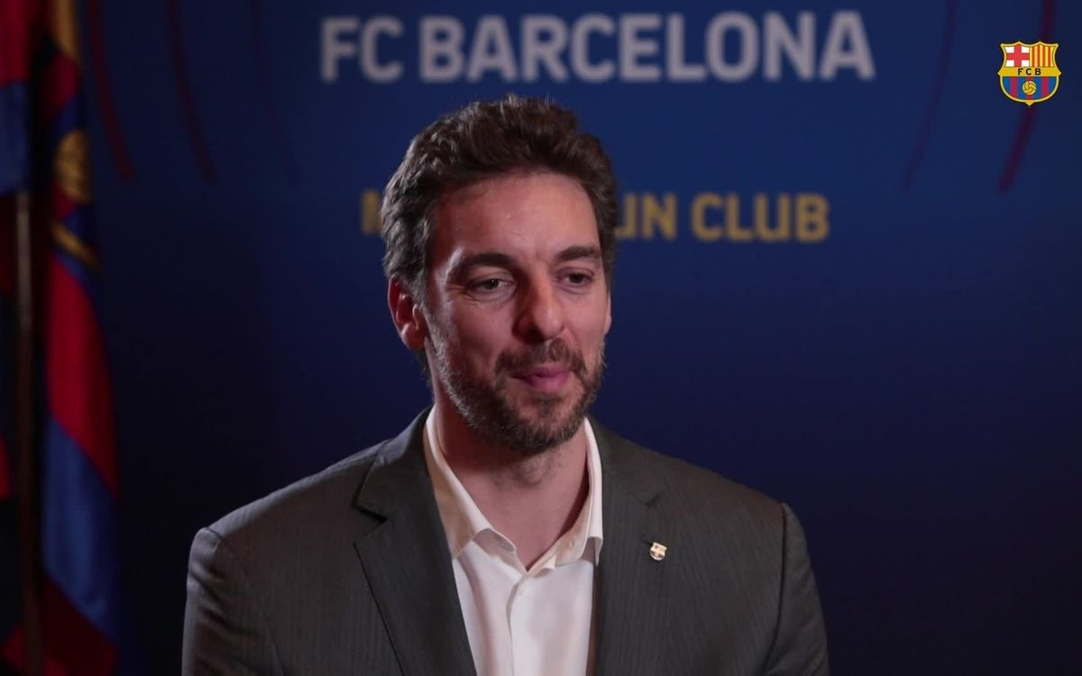 Pau Gasol: 'Barça is like a family'