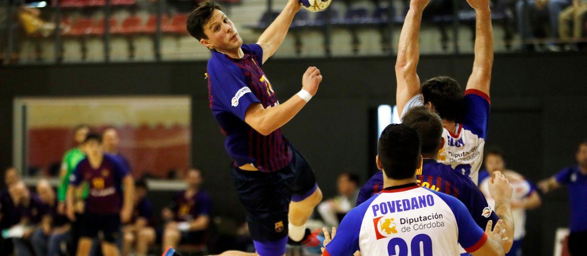 Barça Lassa B - Ars Naranjas de Palma del Río (31-28): Cabeza fría para volver a ganar