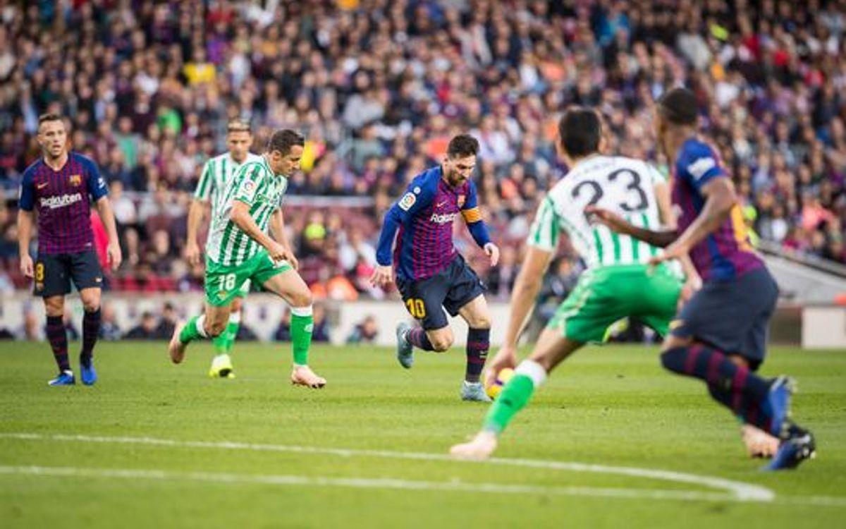 Betis - Barça : Ne rien changer