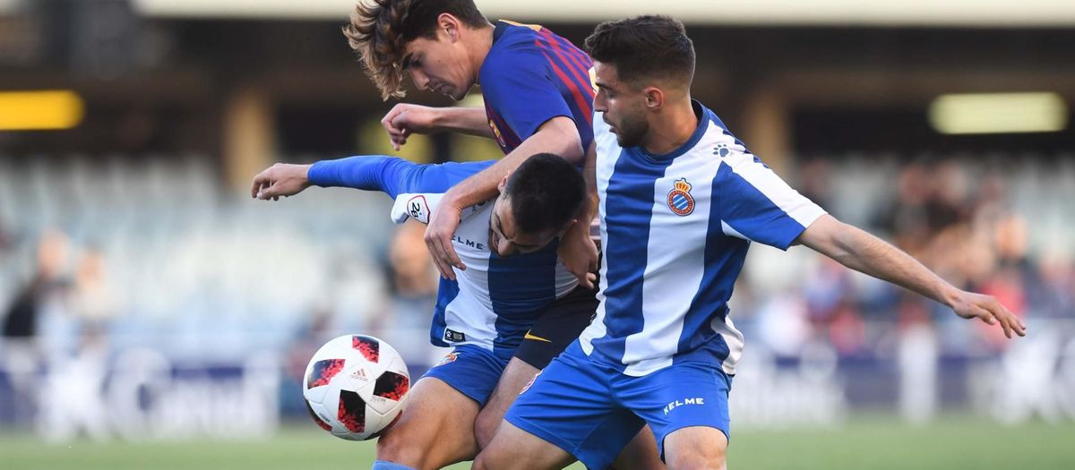 Barça B – RCD Espanyol B: Sense fortuna de cara al gol (0-1)