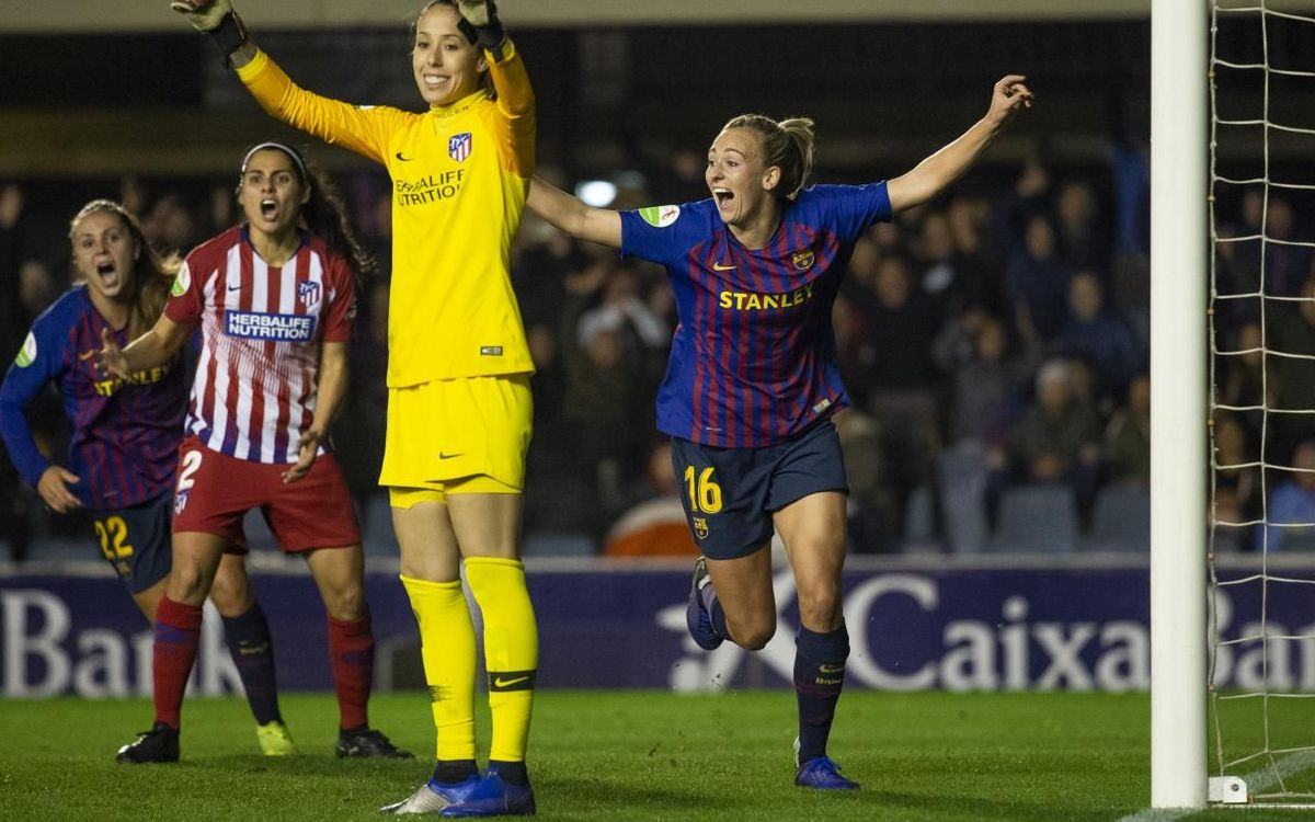 Atlètic de Madrid - Barça Femení (prèvia): Escenari majestuós, duel colossal