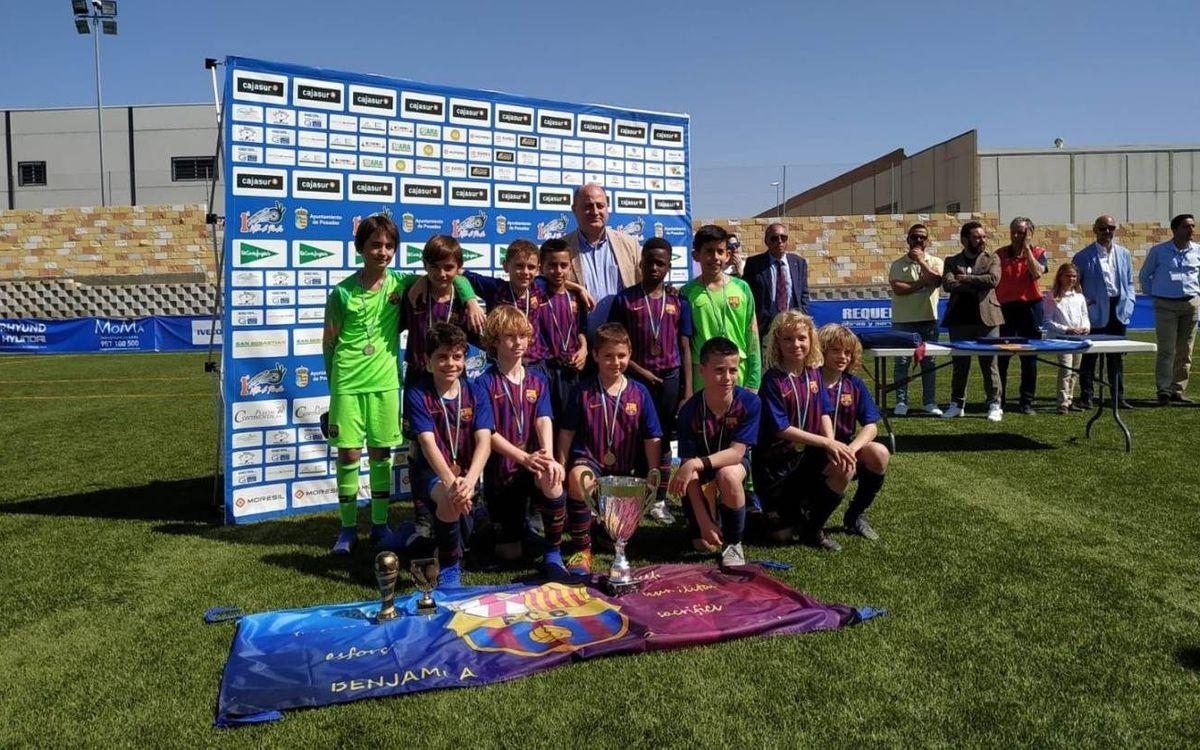 El Benjamín A gana la International Cup Villa de Posadas