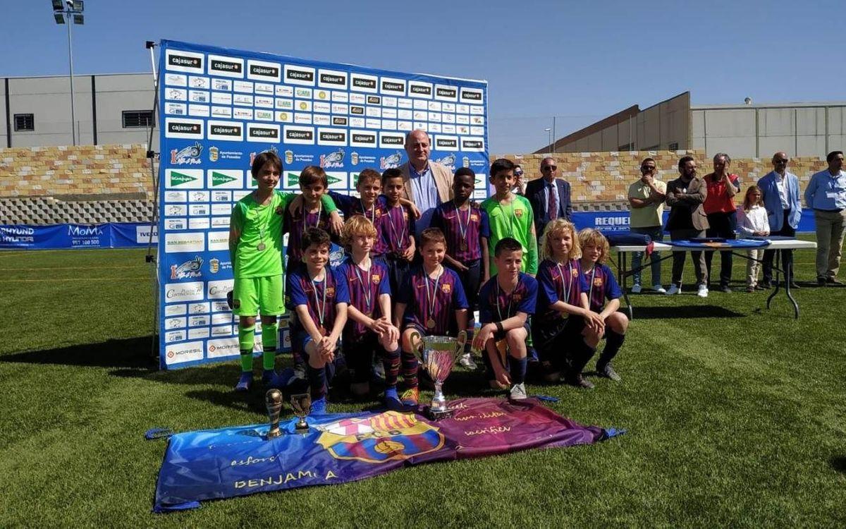 El Benjamí A guanya la International Cup Villa de Posadas