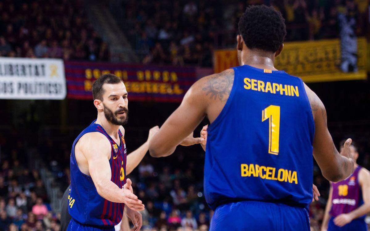 Barça Lassa – Buducnost VOLI: Guanyar i assegurar el 5è lloc