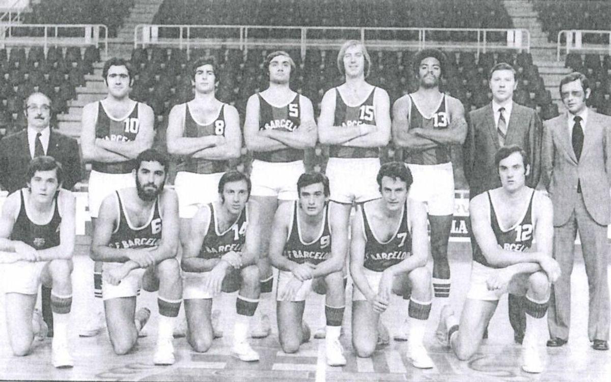 Mor Ramon Ciurana, gerent de la secció de bàsquet als anys 70