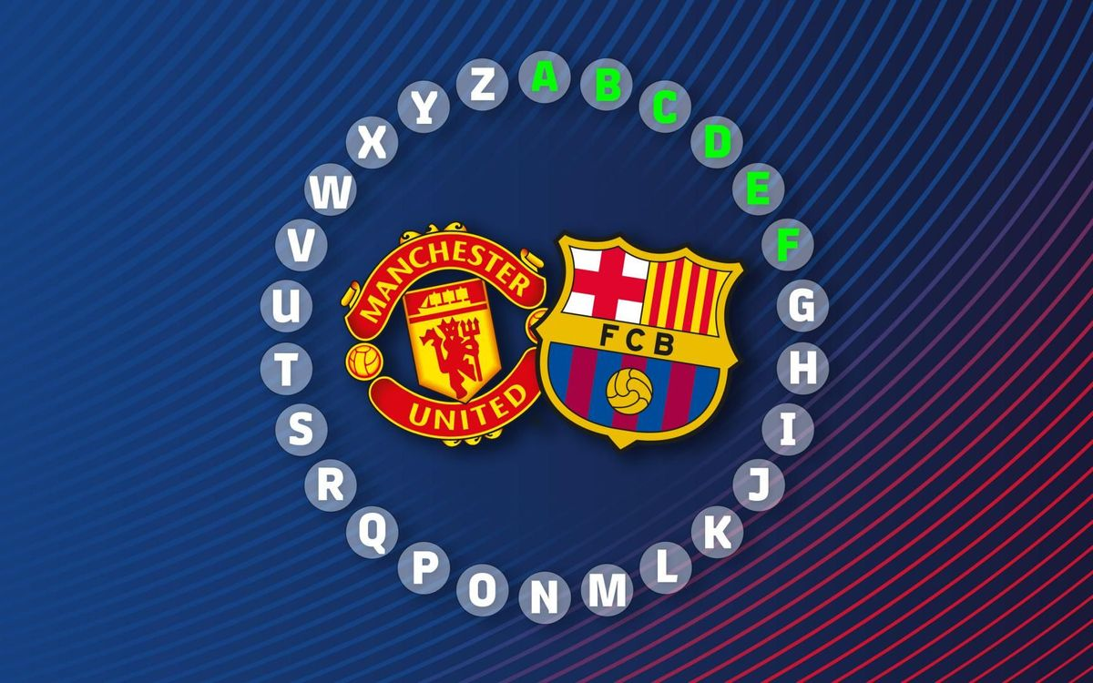 The ABC of Manchester United v Barça