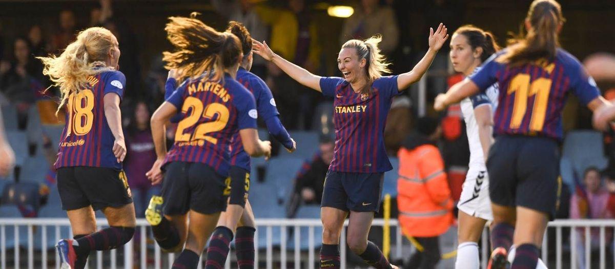 Barça 3-0 LSK Kvinner: On great course for the semis