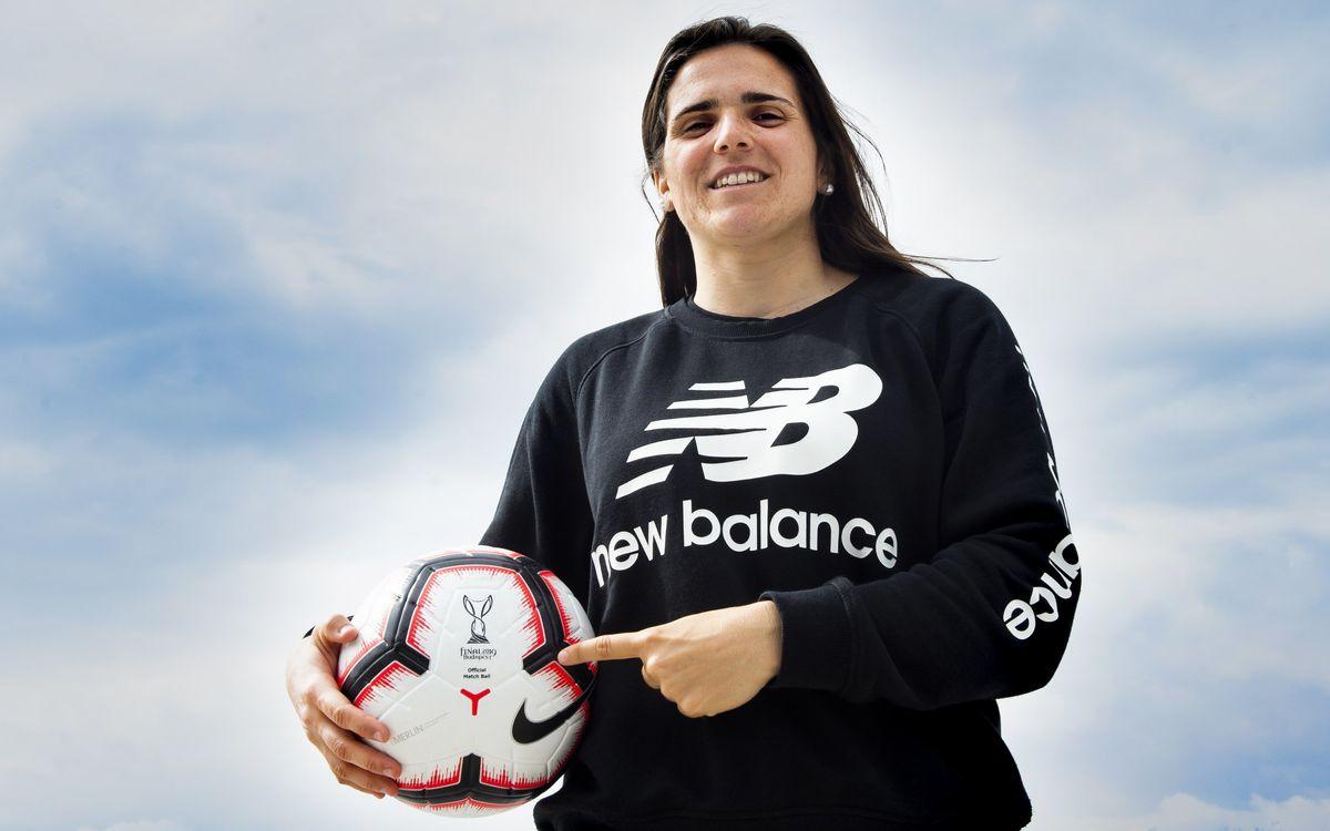 Pereira se ha convertido en una de las jugadoras clave del equipo en su primer año como azulgrana / VÍCTOR SALGADO - FCB