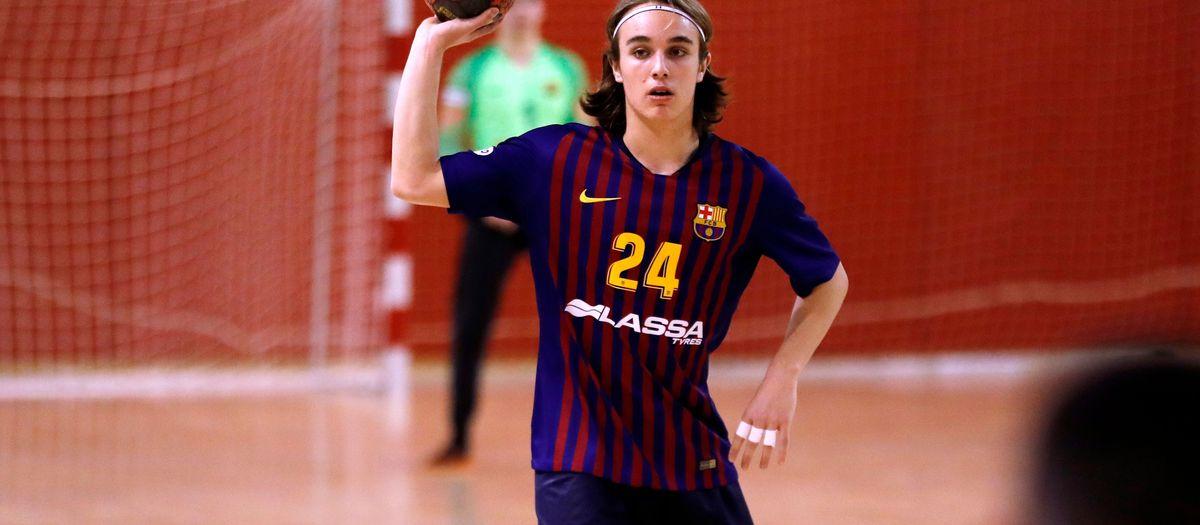 El juvenil de l'handbol, a pel títol català