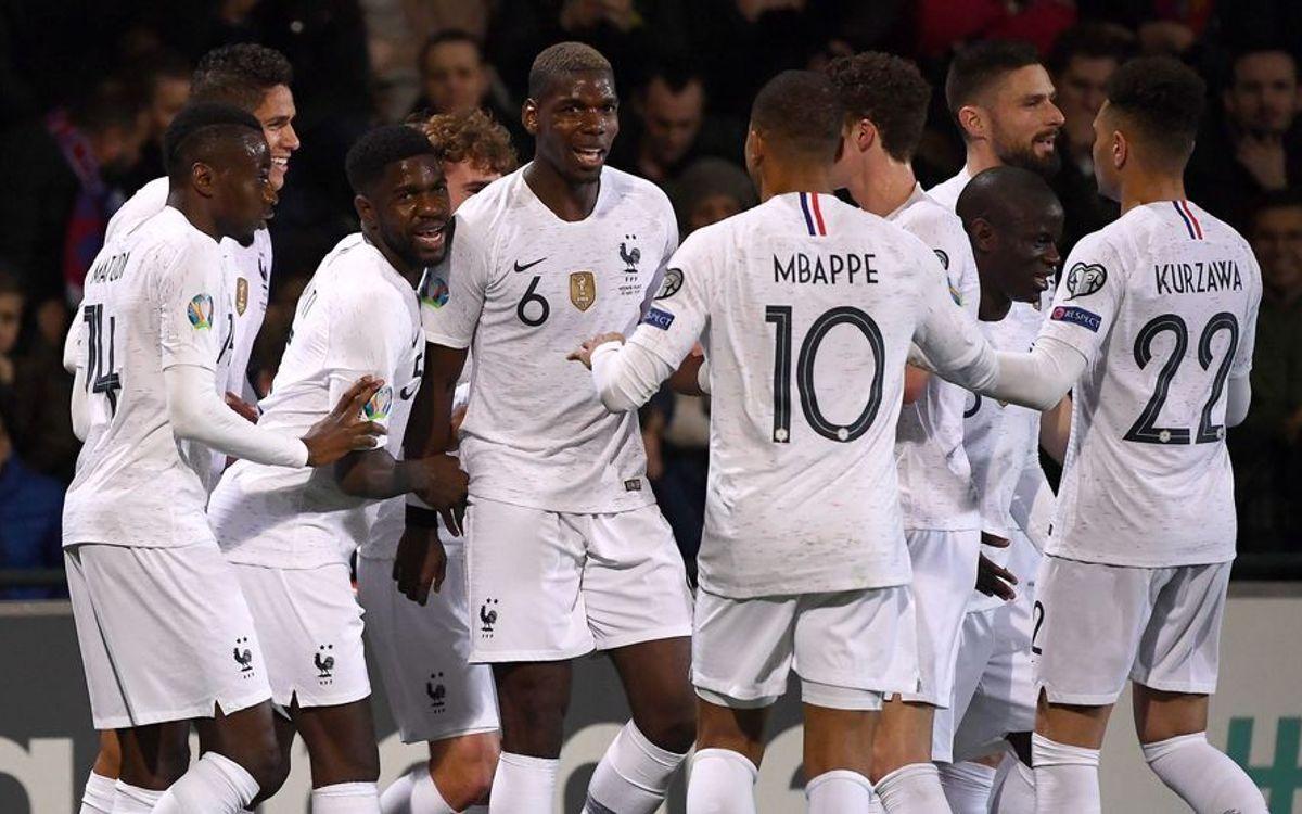 Umtiti s France win  Messi and Vidal shine despite defeats 30bdbe718