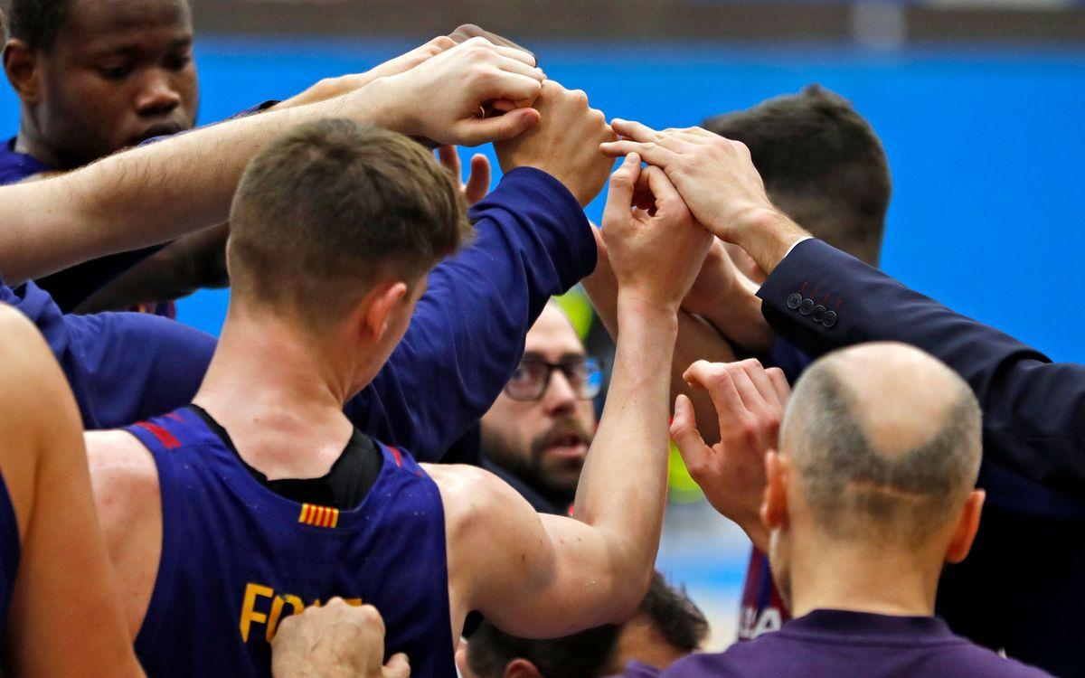 Els B de futsal i bàsquet, en directe per Barça TV