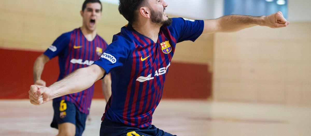 Barça Lassa B - Software DELSOL Mengíbar (6-1): Intensidad, talento y triunfo