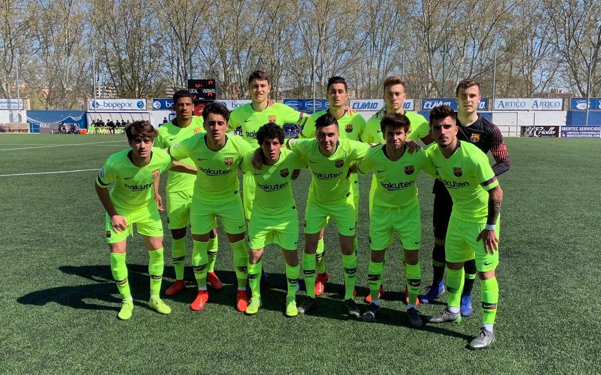 CD Ebro – Barça B: Triomf d'ofici a domicili (0-1)