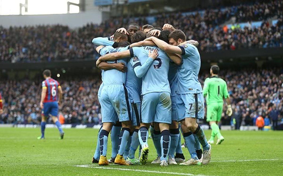 Triomf del Manchester City per 3-0 enfront el Crystal Palace