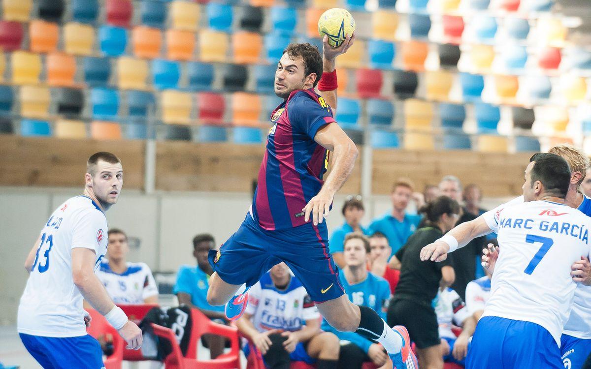 FC Barcelona – Fraikin BM Granollers: Un derbi dels de tota la vida