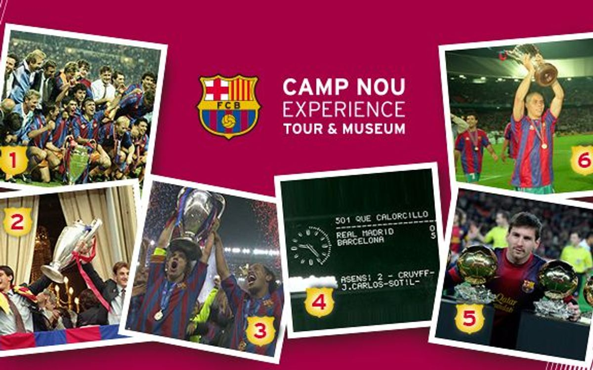 Second winner of the competition 'Write your own FC Barcelona history'