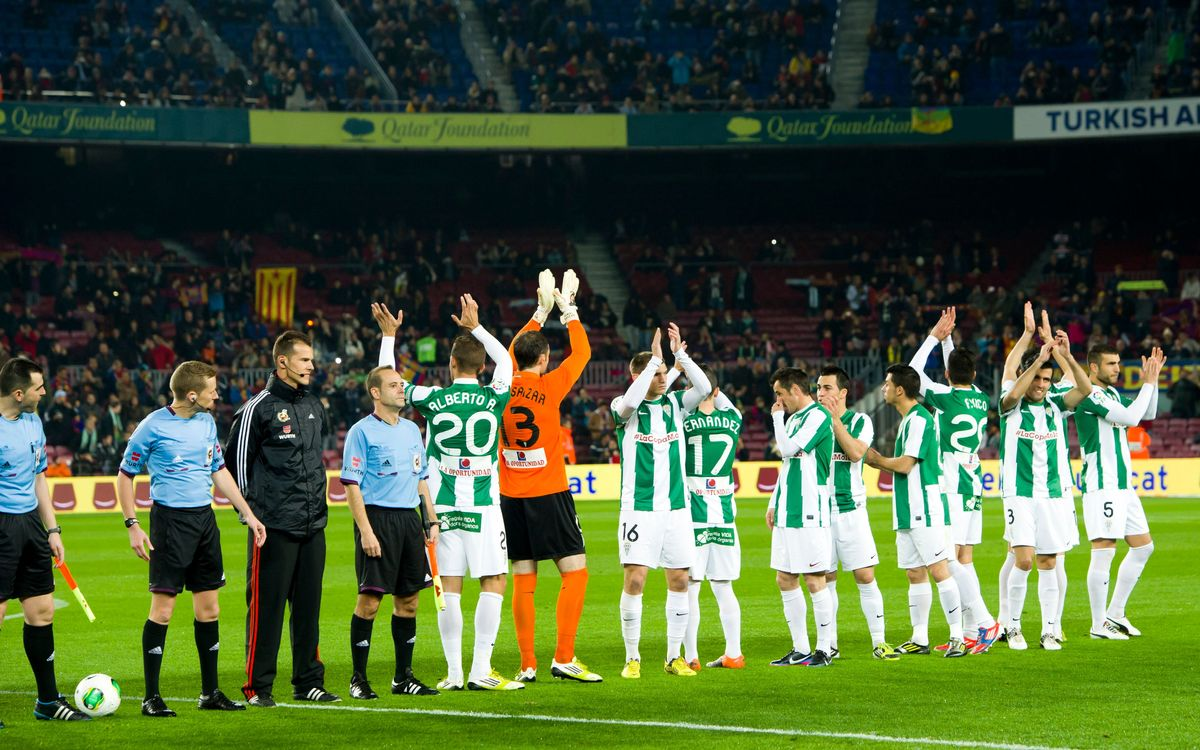 Córdoba return to Camp Nou