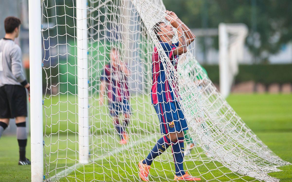 Jàbac Terrassa – FC Barcelona: Empat a l'últim sospir (1-1)