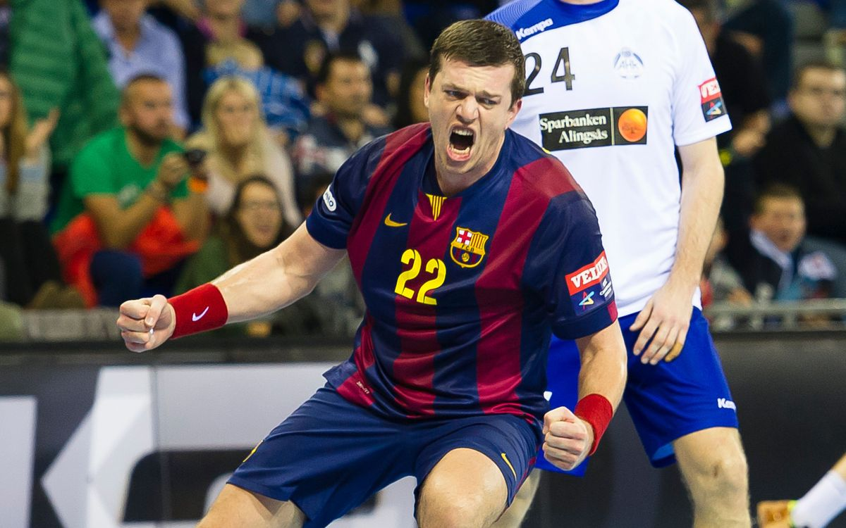 El FC Barcelona d'handbol, concentrat amb el Guadalajara